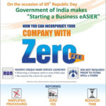 Company incorporation zero fees